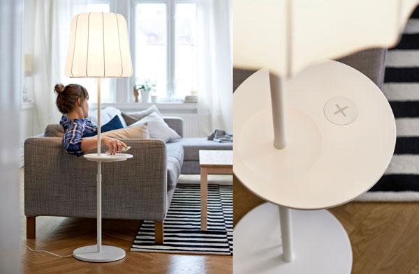IKEA stellt seine erste Möbelkollektion mit Aufladefunktion vor.