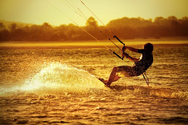 Kitesurfen Trend-Sport