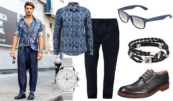 Street Style Loose Pants