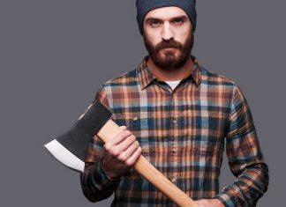 """Vollbart - kariertes Hemd - zerzauster Stil - so sieht der """"Lumbersexual"""" Mann aus"""