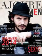 AJOURE Men Cover Monat Mai 2014 - Manuel Cortez