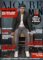 AJOURE Men Cover Monat April 2015