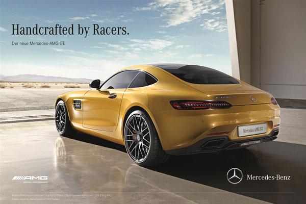 Mercedes-AMG GT Werbung