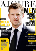 AJOURE Men Cover Monat Oktober 2014 - Andreas Guenther