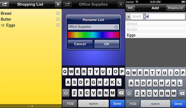 shopshop app einkaufsliste