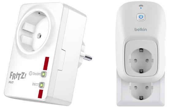Smart Home Geräte ohne Installation: Fritz AVM DECT & Belkin WeMo Switch