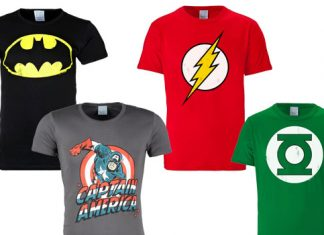 Superhelden T-Shirts